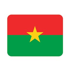 Flag Of Burkina Faso Double Sided Flano Blanket (mini)
