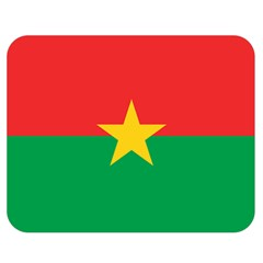 Flag Of Burkina Faso Double Sided Flano Blanket (medium)
