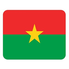 Flag Of Burkina Faso Double Sided Flano Blanket (large)