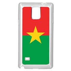 Flag Of Burkina Faso Samsung Galaxy Note 4 Case (white)