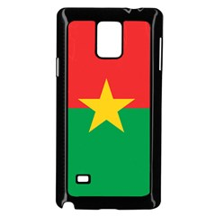 Flag Of Burkina Faso Samsung Galaxy Note 4 Case (black)
