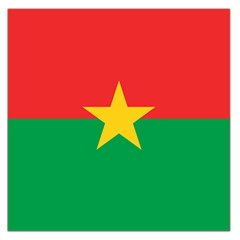 Flag Of Burkina Faso Large Satin Scarf (square)