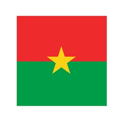 Flag Of Burkina Faso Small Satin Scarf (square)