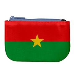Flag Of Burkina Faso Large Coin Purse