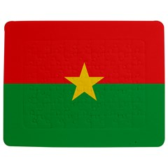 Flag Of Burkina Faso Jigsaw Puzzle Photo Stand (rectangular)
