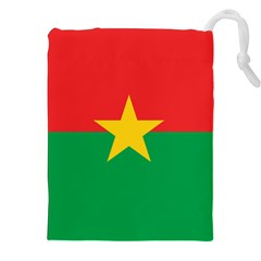 Flag Of Burkina Faso Drawstring Pouches (xxl)