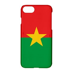 Flag Of Burkina Faso Apple Iphone 7 Hardshell Case