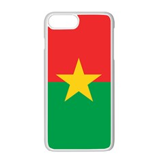 Flag Of Burkina Faso Apple Iphone 7 Plus Seamless Case (white)