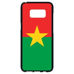 Flag Of Burkina Faso Samsung Galaxy S8 Black Seamless Case