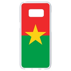 Flag Of Burkina Faso Samsung Galaxy S8 White Seamless Case