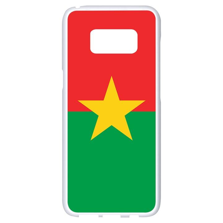 Flag of Burkina Faso Samsung Galaxy S8 White Seamless Case