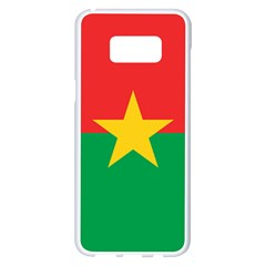 Flag Of Burkina Faso Samsung Galaxy S8 Plus White Seamless Case