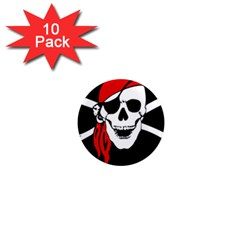 Pirate Skull 1  Mini Magnet (10 Pack)  by sherylchapmanphotography