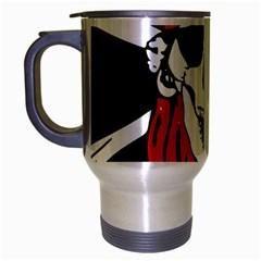 Pirate Skull Travel Mug (silver Gray)