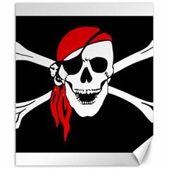Pirate Skull Canvas 20  X 24