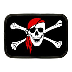 Pirate Skull Netbook Case (medium)