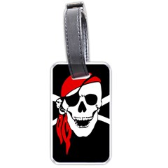 Pirate Skull Luggage Tags (one Side)