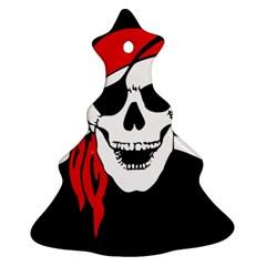 Pirate Skull Ornament (christmas Tree)