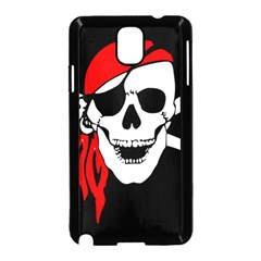 Pirate Skull Samsung Galaxy Note 3 Neo Hardshell Case (black)