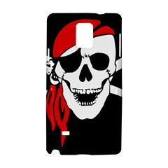 Pirate Skull Samsung Galaxy Note 4 Hardshell Case by sherylchapmanphotography