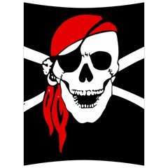 Pirate Skull Back Support Cushion by sherylchapmanphotography