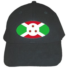 Flag Of Burundi Black Cap