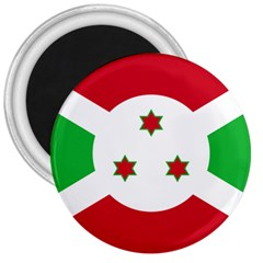Flag Of Burundi 3  Magnets