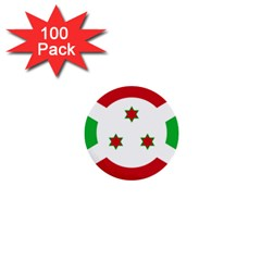 Flag Of Burundi 1  Mini Buttons (100 Pack)