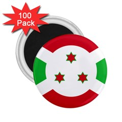 Flag Of Burundi 2 25  Magnets (100 Pack)  by abbeyz71