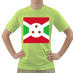 Flag Of Burundi Green T Shirt