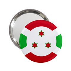Flag Of Burundi 2 25  Handbag Mirrors