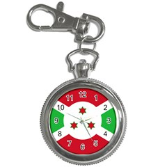 Flag Of Burundi Key Chain Watches