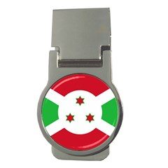 Flag Of Burundi Money Clips (round)