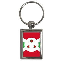 Flag Of Burundi Key Chains (rectangle)