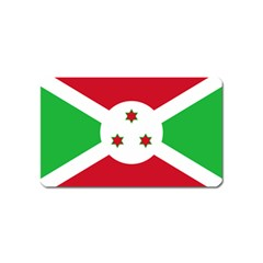 Flag Of Burundi Magnet (name Card)