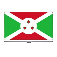 Flag Of Burundi Business Card Holders