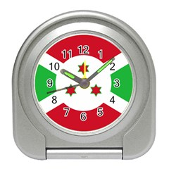 Flag Of Burundi Travel Alarm Clocks