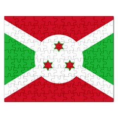 Flag Of Burundi Rectangular Jigsaw Puzzl