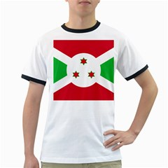 Flag Of Burundi Ringer T Shirts