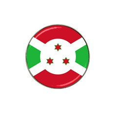 Flag Of Burundi Hat Clip Ball Marker (4 Pack)