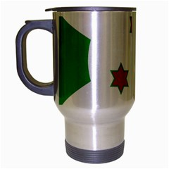 Flag Of Burundi Travel Mug (silver Gray)