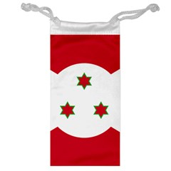 Flag Of Burundi Jewelry Bag