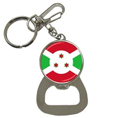 Flag Of Burundi Button Necklaces