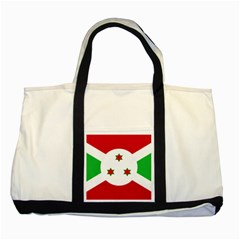 Flag Of Burundi Two Tone Tote Bag