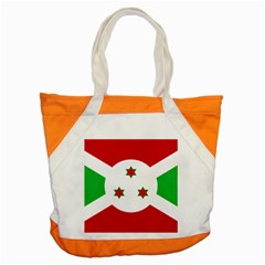 Flag Of Burundi Accent Tote Bag
