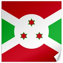 Flag Of Burundi Canvas 16  X 16
