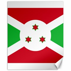 Flag Of Burundi Canvas 16  X 20