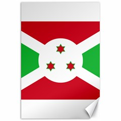 Flag Of Burundi Canvas 20  X 30