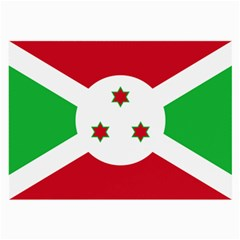 Flag Of Burundi Large Glasses Cloth