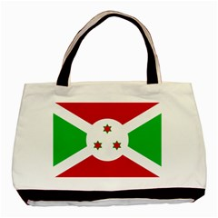 Flag Of Burundi Basic Tote Bag (two Sides)